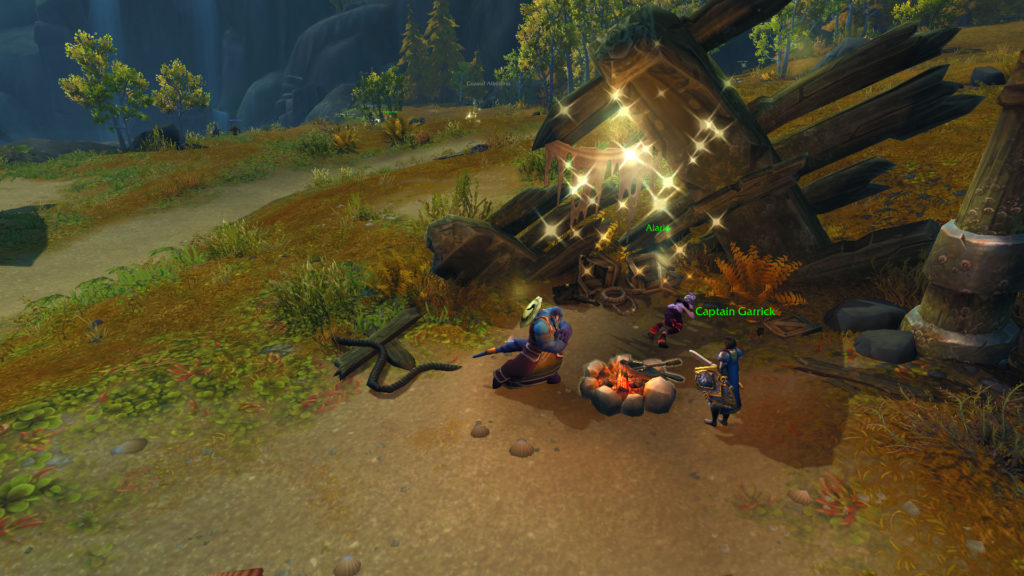 world of warcraft wow exiles exile's reach new zona nova zona area inicial starting area horde alliance ally aliança horda shadowlands gameplay expansion expansão