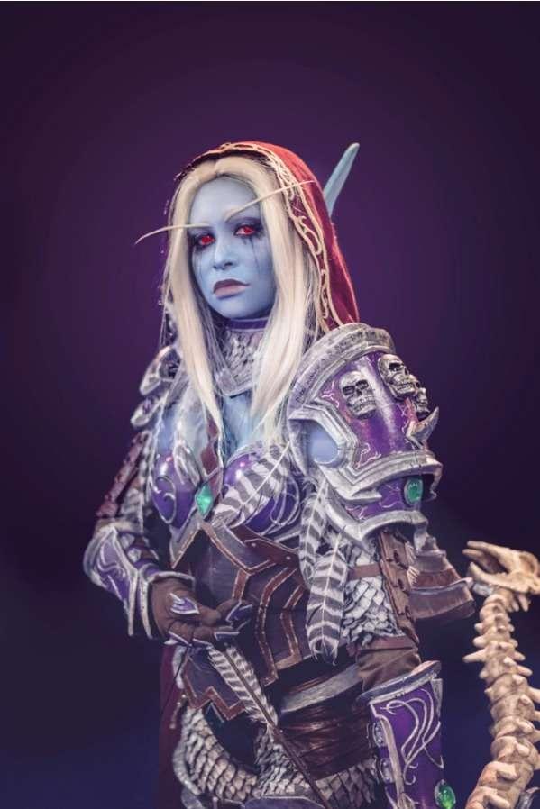 wow world of warcraft shadowlands mari hatsue cosplay dk dead knight elf night elf sylvana wildrunner correventos entrevista