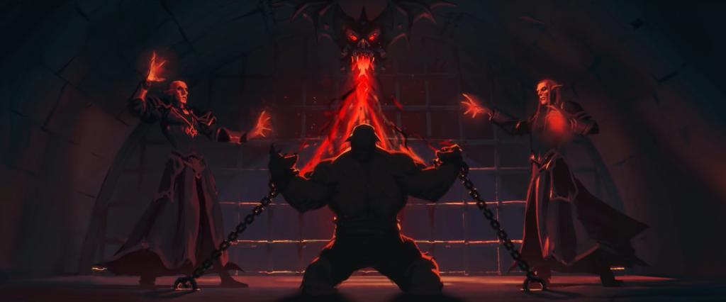 wow world of warcraft Pós-Vidas afterlives shadowlands garrosh grito infernal hellscream